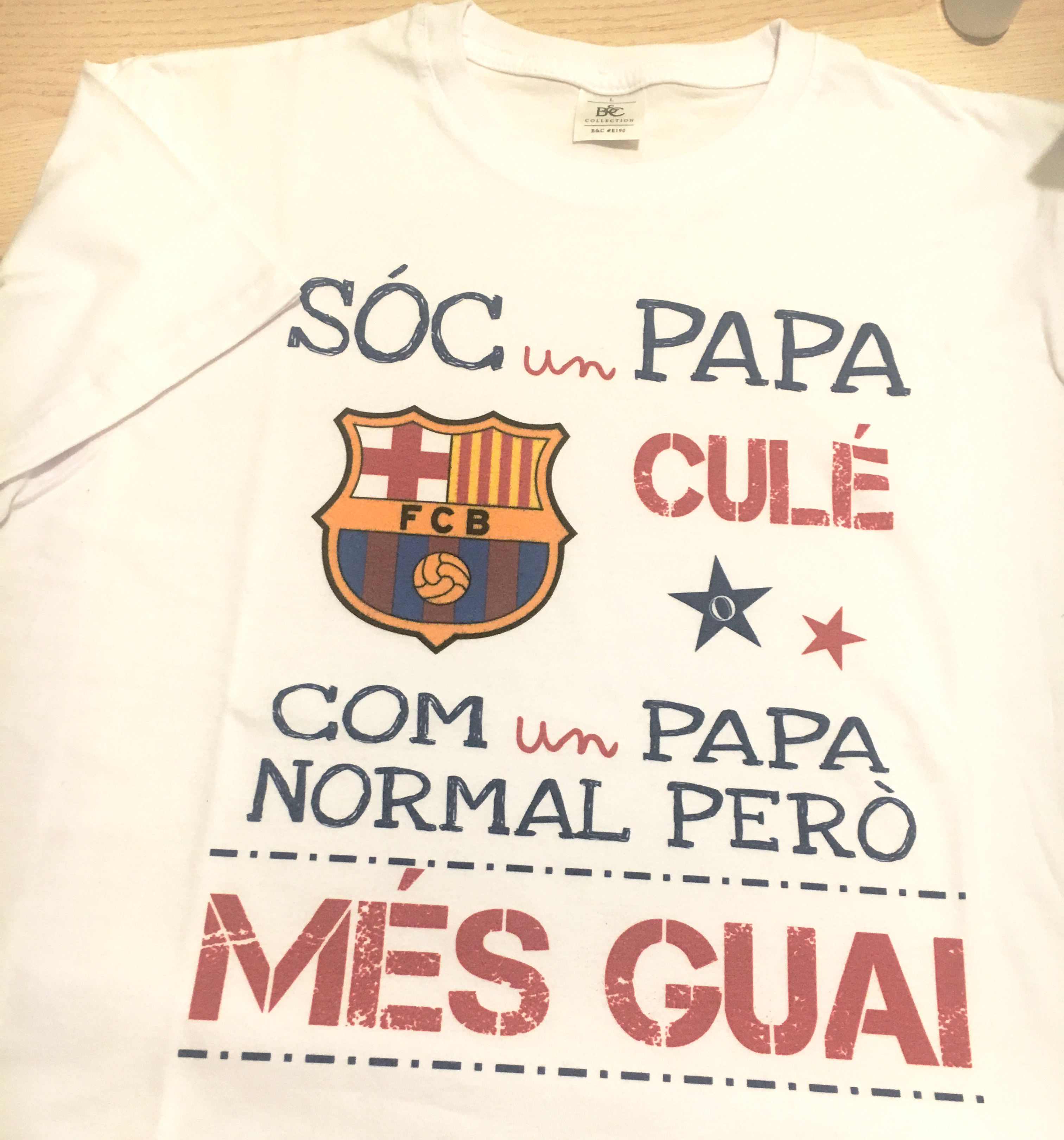 Camiseta personalizada de regalo