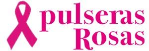 Logo pulseras rosas